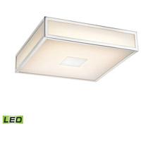 Decovio 15109-COWL1 Jones LED 9 inch Chrome Flush Mount Ceiling Light