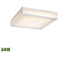 Decovio 15113-COWL1 Jones LED 12 inch Chrome Flush Mount Ceiling Light