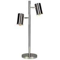 Decovio 11614-2 Folcroft 28 inch 40 watt Swing Arm Table Lamp Portable Light