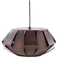 Decovio 11990-C1 Lampeter 1 Light 19 inch Dark Brown Pendant Ceiling Light