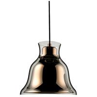 Decovio 15161-GC1 Frenchcreek 1 Light 8 inch Gold Mini Pendant Ceiling Light