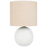 Decovio 12632-I1 Waterville 22 inch 100 watt Ivory Table Lamp Portable Light