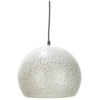 Decovio 12640-I1 Cornwall 1 Light 12 inch Ivory Pendant Ceiling Light