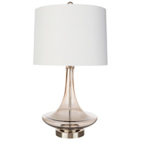 Decovio 12688-W1 Granby 26 inch 100 watt White Table Lamp Portable Light