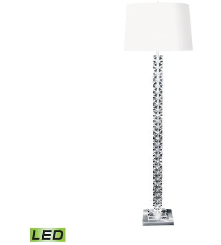Dimond Lighting 10005 LED Diamond 62 Inch 9.5 Watt Clear Floor Lamp  Portable Light Photo