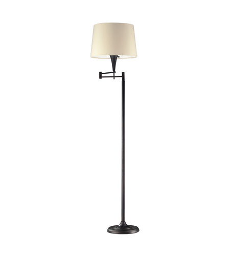 Dimond Lighting Swingarm 1 Light Floor Lamp in Aged Bronze 10293/1 photo