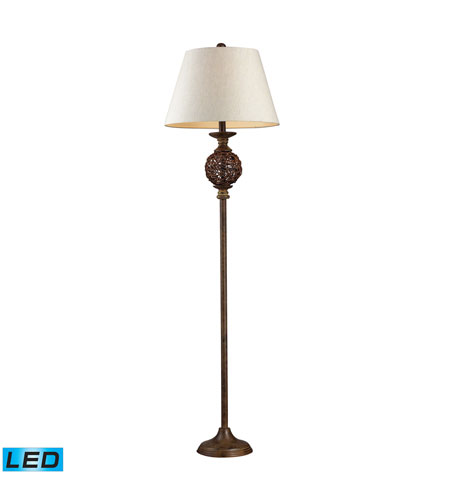 Dimond Lighting Atmore 1 Light Table Lamp in Natural 111-1086-LED photo