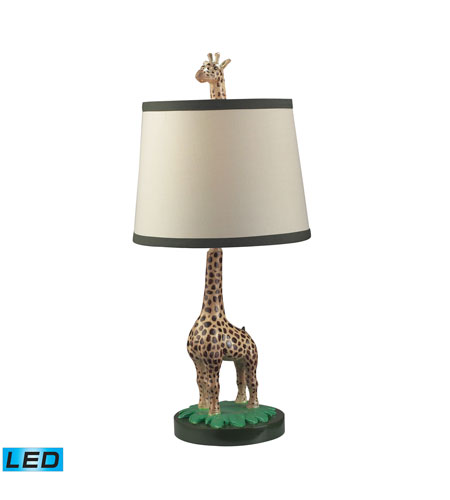 Dimond Lighting Jerry 1 Light Table Lamp in Gloss 112-1109-LED photo