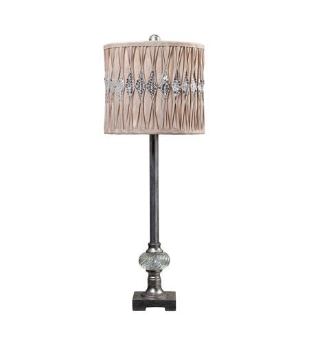 Dimond Lighting Bayview Manor 1 Light Buffet Lamp in Cisco Silver 113-1125 photo