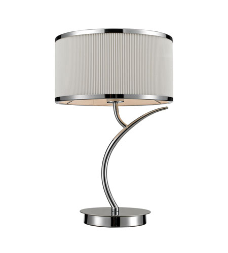 Dimond Lighting Annika 1 Light Table Lamp in Polished Chrome 11350/1 photo