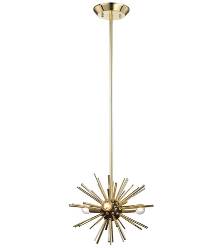 Dimond lighting 1140 027 starburst 3 light 12 inch polished gold dimond lighting 1140 027 starburst 3 light 12 inch polished gold oil rubbed bronze pendant ceiling light mozeypictures Images