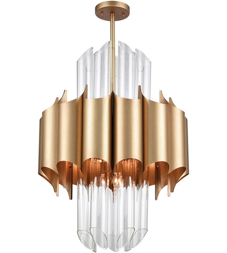 Dimond Lighting 1140-062 Cold Rolled 20 Light 24 inch Matte Gold Chandelier Ceiling Light photo