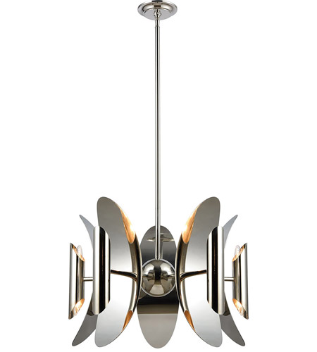 Dimond lighting 1141 061 into stellar space 10 light 23 inch dimond lighting 1141 061 into stellar space 10 light 23 inch polished nickel and stainless steel chandelier ceiling light mozeypictures Gallery