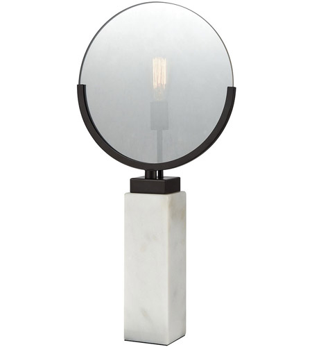 Dimond Lighting 1141 070 Radio Row 28 Inch Oiled Bronze And White