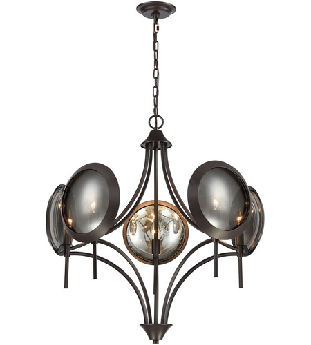 Dimond Lighting 1141-071 Cadabra 5 Light 28 inch Oiled Bronze Chandelier Ceiling Light photo