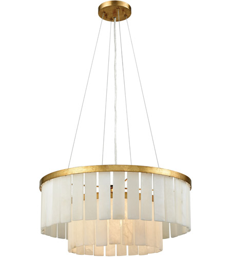 Dimond Lighting 1142-013 Orchestra 1 Light 20 inch Gold Leaf Chandelier Ceiling Light  photo