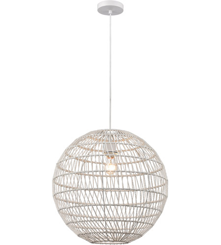 Dimond Lighting White Pendants