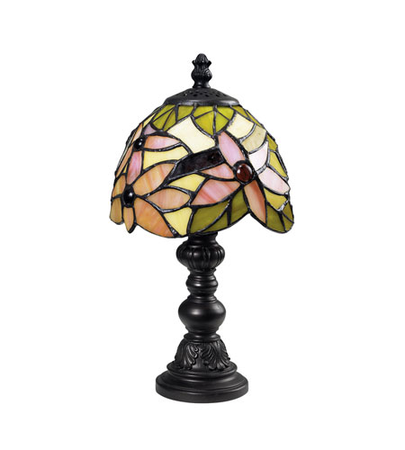 Dimond Lighting Mini Tiffany 1 Light Mini Lamp in Tiffany 126-0010 photo