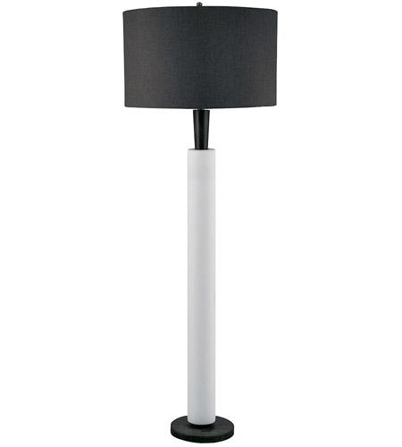 Dimond lighting 281 bisque ceramic 64 inch 15 watt modern wood and dimond lighting 281 bisque ceramic 64 inch 15 watt modern wood and white floor lamp portable aloadofball Images