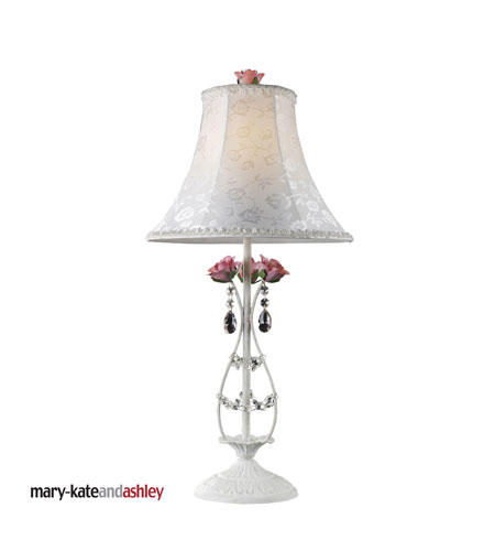 Dimond Lighting Mary Kate & Ashley Rosavita 1 Light Table Lamp in Antique White 4051/1 photo