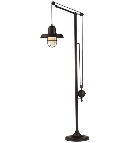 Dimond Lighting 65073-1 Farmhouse 69 inch 13 watt Oiled Bronze Floor Lamp Portable Light photo
