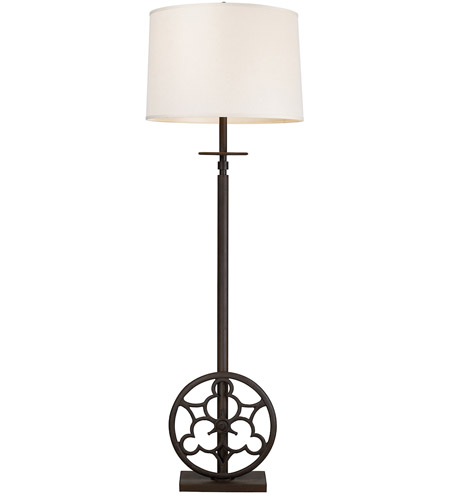 Dimond Lighting Ironton 4 Light Floor Lamp in Vintage Rust 65113-4 photo