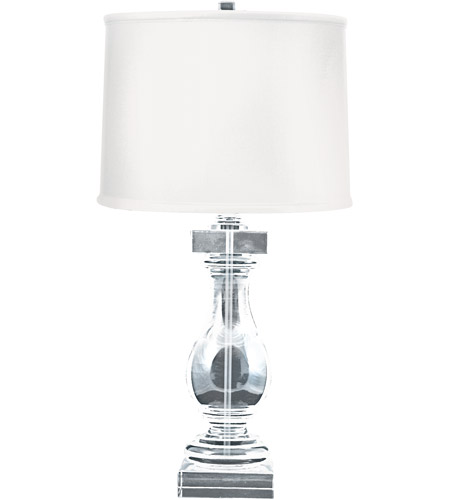 Dimond lighting 704 crystal ballustrade 28 inch 1 watt clear table dimond lighting 704 crystal ballustrade 28 inch 1 watt clear table lamp portable light in incandescent balustrade aloadofball Choice Image