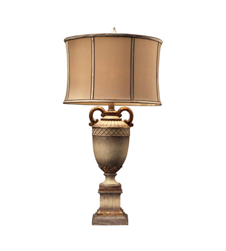 Dimond Lighting Stromburg 1 Light Table Lamp in Sussex Stone With Gold 93-10016 photo