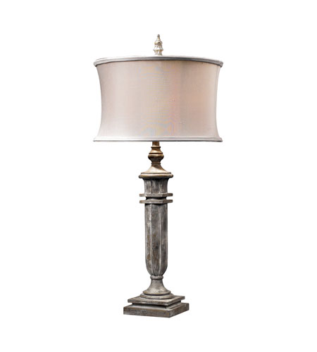 Dimond Lighting ONeil 1 Light Table Lamp in Restoration Grey 93-10020 photo