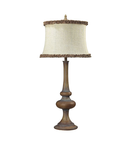Dimond Lighting Dawn Hill 1 Light Table Lamp in Carmel 93-19259 photo
