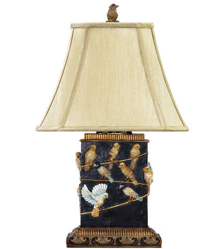 Dimond Lighting 93-530 Bird On Branch 20 inch 40 watt Table Lamp Portable Light in Incandescent photo