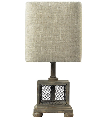 Dimond Lighting Delambre 1 Light Mini Lamp in Montauk Grey 93-9150 photo