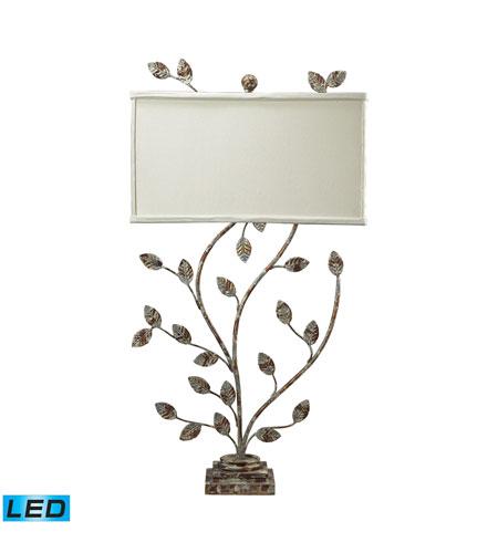 Dimond Lighting Tisserland 2 Light Table Lamp in Vernonburg Gold 93-9154-LED photo