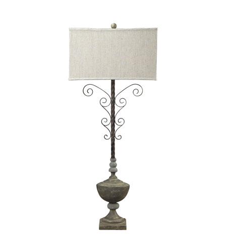 Dimond Lighting Vernier 1 Light Table Lamp in Montauk Grey 93-9157 photo