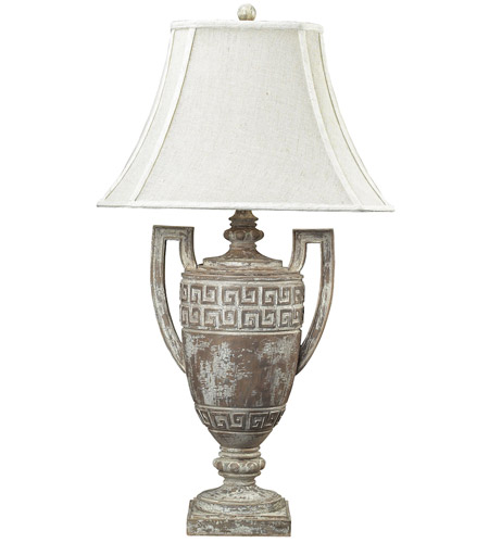 Dimond Lighting 93-9197 Greek Key 34 inch 150 watt Allesandria Table Lamp Portable Light in Incandescent photo