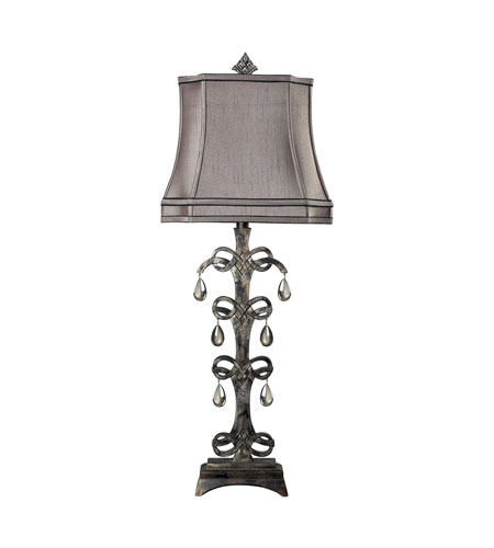 Dimond Lighting Castello 1 Light Table Lamp in Durand 93-9230 photo