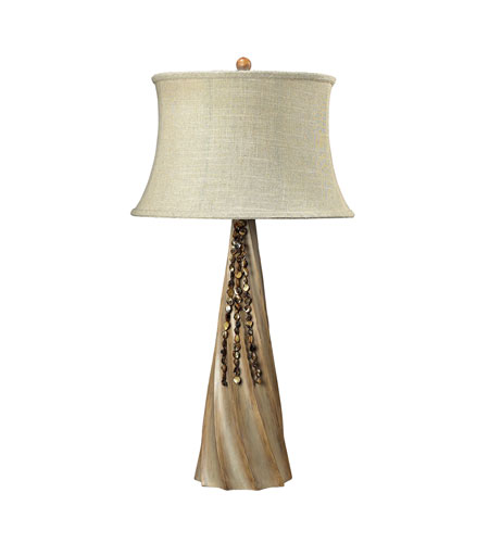 Dimond Lighting Rest Haven 1 Light Table Lamp in Bleached Wood 93-9242 photo