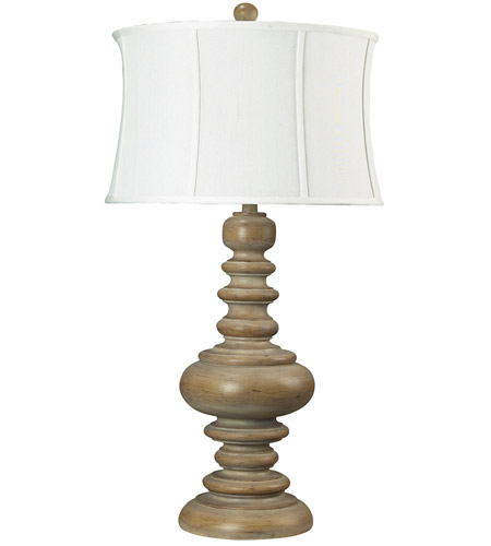 Dimond Lighting Moniac 1 Light Table Lamp in Bleached Wood 93-9244 photo