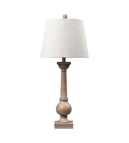 Dimond Lighting Taylorsville 1 Light Table Lamp in Bleached Wood 93-9248 photo
