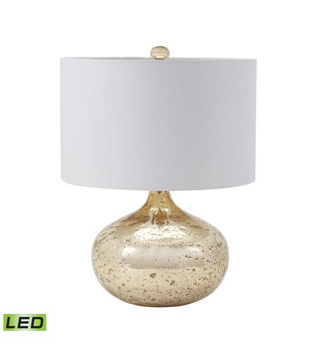Antique Mercury Glass 22 Inch 9 5 Watt Gold Mercury Table Lamp