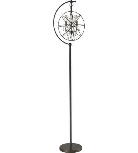 Dimond Lighting D2422 Restoration Globe 16 Inch 60 Watt Oil Rubbed Bronze  Floor Lamp Portable Light