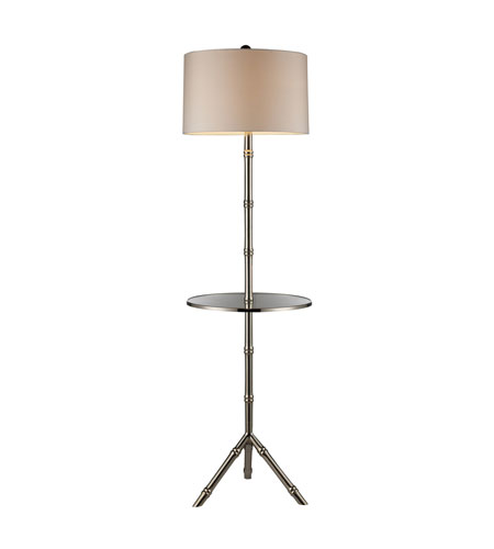 Dimond Lighting D1403S Stanton 59 inch 150 watt Silver Plated floor Lamp Portable Light in Incandescent photo