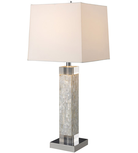 Dimond Lighting D1412 Luzerne 32 inch 150 watt Mother Of Pearl Table Lamp Portable Light in Incandescent photo