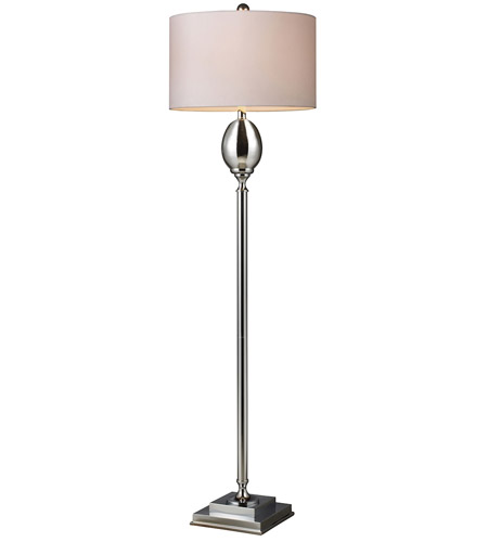Dimond Waverly 1 Light Floor Lamp in Chrome Plated Glass D1427W photo