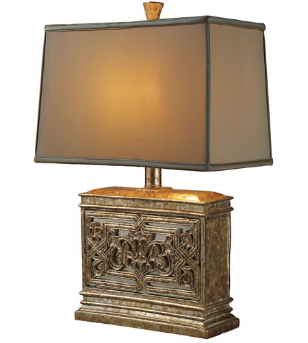 Dimond Lighting D1443 Laurel Run 25 inch 100 watt Courtney Gold Table Lamp Portable Light in Incandescent photo