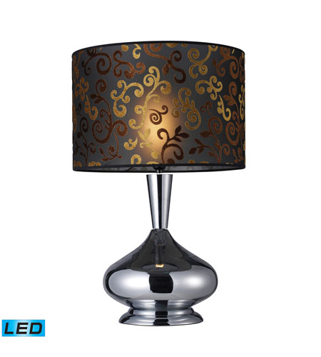 Dimond Lighting Avonmore 1 Light Table Lamp in Chrome D1472-LED photo
