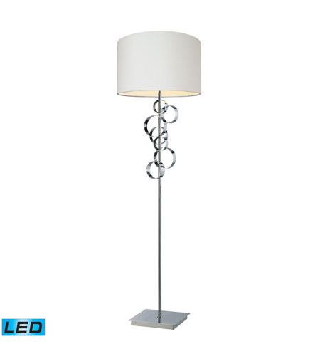 Dimond Lighting Avon 1 Light Floor Lamp in Chrome D1476-LED photo