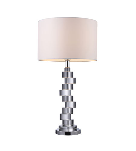 Dimond Lighting D1480 Armagh 30 inch 150 watt Clear Crystal and Chrome Table Lamp Portable Light in Incandescent photo