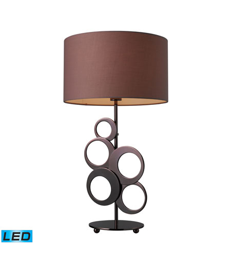 Dimond Lighting Addison 1 Light Table Lamp in Chocolate Plating D1484-LED photo