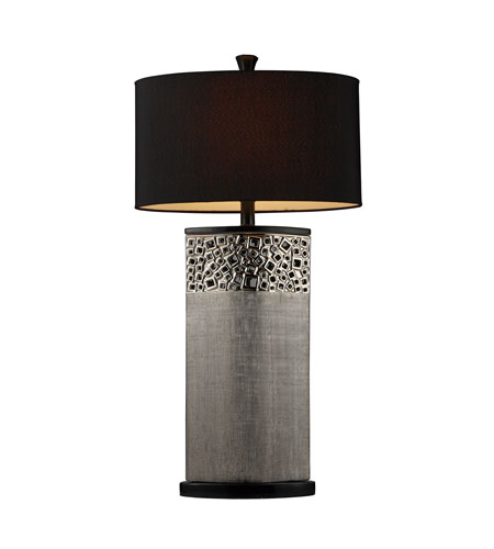 Dimond Bellevue 1 Light Table Lamp in Silver Plated D1490 photo
